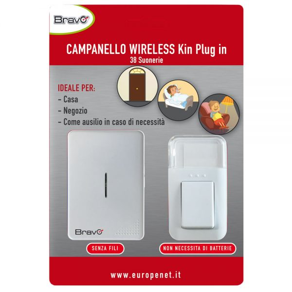 92902913_CAMPANELLO WIRELESS_PLUG-IN CINETICO – BLISTER